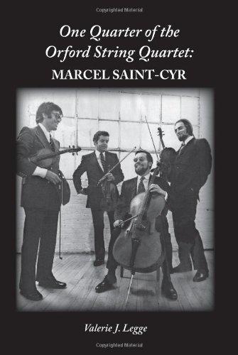 9780981233307: One Quarter of the Orford String Quartet