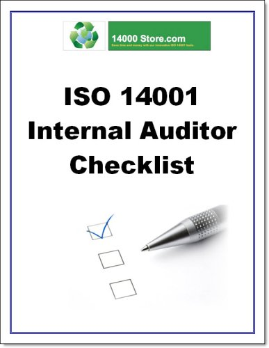 9780981254562: ISO 14001 Internal Audit Tools and Checklist Package