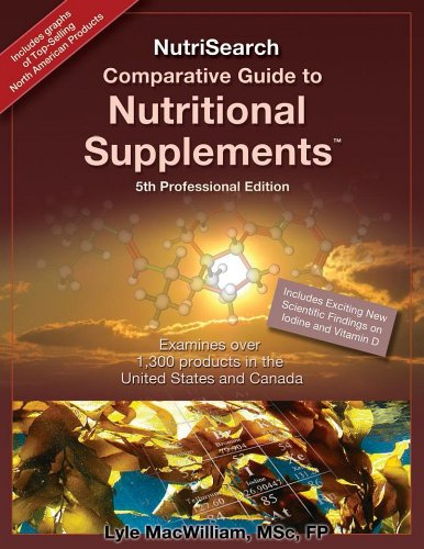 9780981284040: NutriSearch Comparative Guide to Nutritional Supplements, 5th Professional edition