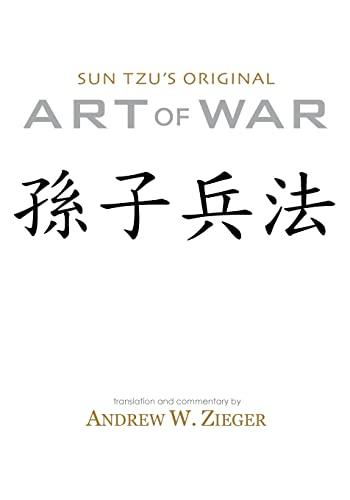 9780981313733: Sun Tzu's Original Art of War: Special Bilingual Edition
