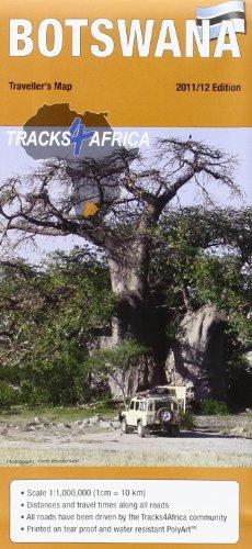 9780981429281: Botswana Traveler's Map