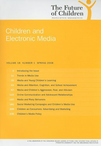 9780981470504: Children and Electronic Media (Future of Children)