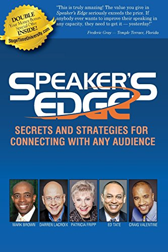 9780981475608: Speaker's Edge: Secrets and Strategies for Connecting with Any Audience