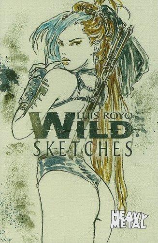 9780981489520: Luis Royo Wild Sketches Volume 3