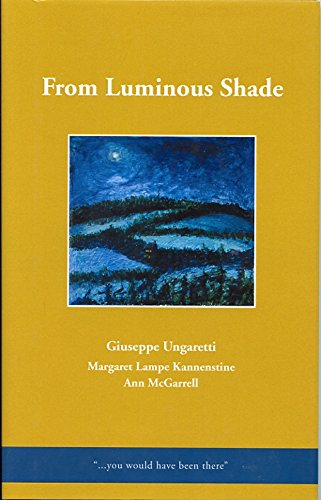 Stock image for From Luminous Shade for sale by Discover Books