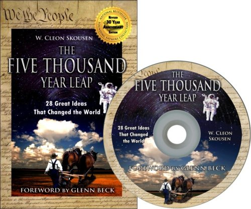 9780981559650: The Five Thousand Year Leap - w/CD-Rom eBook and MP3 Audio - Foreword by Glenn Beck