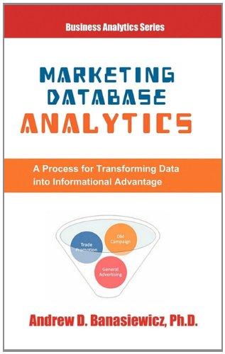 Marketing Database Analytics: Banasiewicz, Andrew D