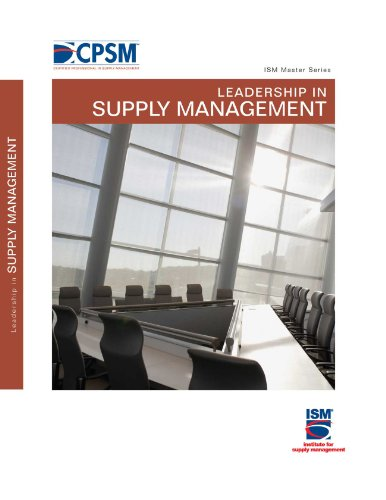 9780981577005: Leadership in Supply Management