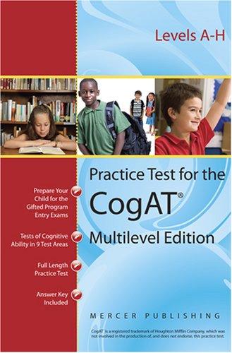 9780981581002: Practice Test for the Cognitive Abilities Test CogAT® Multilevel Edition (Form 6)