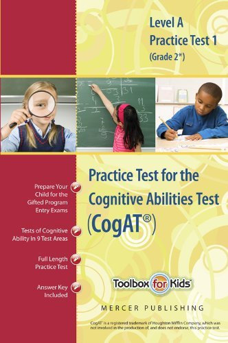 Practice test cogat form by mercer publishing abebooks cognitive abilities test cogat multilevel a book mercer publishing fandeluxe Gallery
