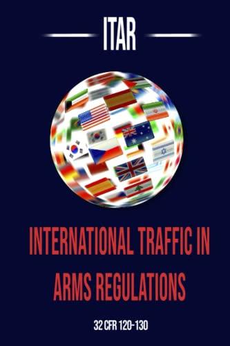 International Traffic in Arms Regulation (Itar): Department Of State