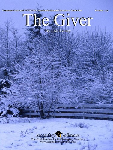 9780981624310: The Giver Literature Guide (Common Core and NCTE/IRA Standards-Aligned Teaching Guide)
