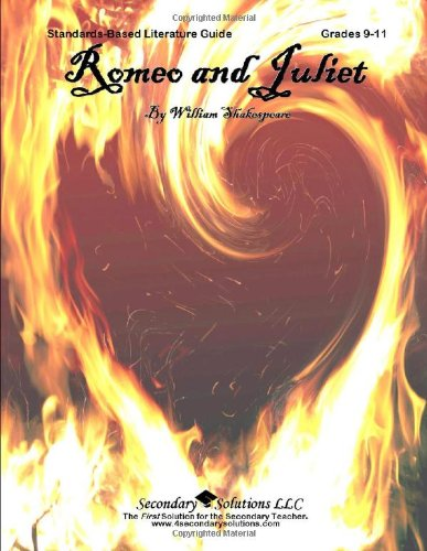 9780981624389: Romeo and Juliet Teacher Guide - Literature Guide for Teaching Romeo and Juliet by Shakespeare