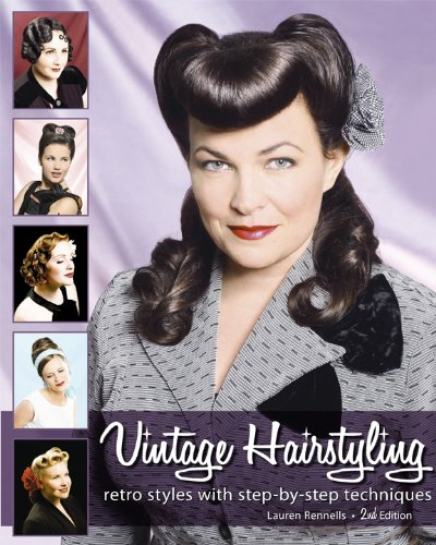 9780981663913: Vintage hairstyling: retro styles with m
