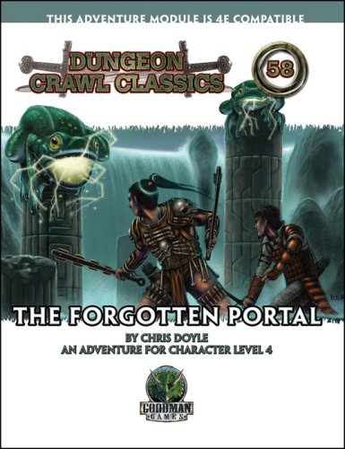 Dungeon Crawl Classics 58*OP: The Forgotten Portal: Doyle, Chris