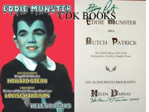 Eddie Munster Aka Butch Patrick: The Untold: Helen Darras; Foreword-Louise