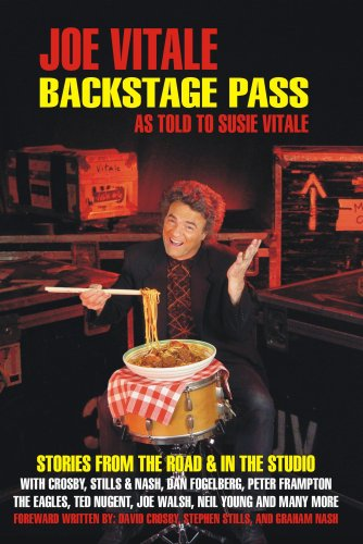 Backstage Pass: Written By Susie Vitale: Vitale, Susie; Vitale, Joe