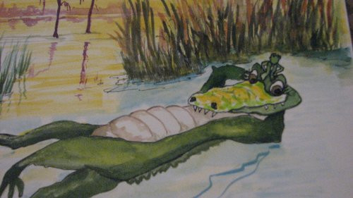 9780981678924: Amos: the Artistic Alligator