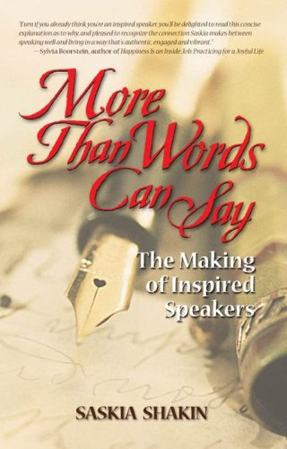 9780981697031: More Than Words Can Say