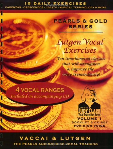 9780981723112: Vol.1-Lutgen Vocal Exercise: for High Voice