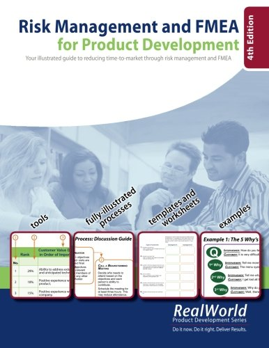 9780981759500: Risk Management and FMEA for Product Development, 4th Edition: Your illustrated guide to reducing time-to-market through risk management and FMEA