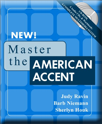 9780981775425: Master the American Accent (Workbook, CD-ROM for Windows, 4 Audio CDs)