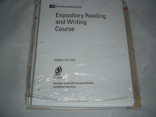 CSU The California State University Expository Reading