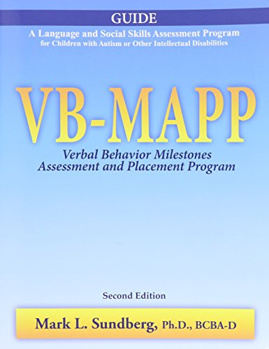 VB-MAPP: Verbal Behavior Milestones Assessment and Placement: Mark L. Sundberg
