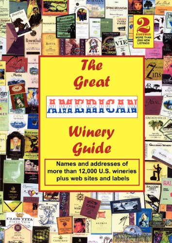 9780981839110: The Great American Winery Guide