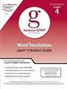 9780981853376: Word Translations GMAT Strategy Guide (Manhattan Gmat Prep)