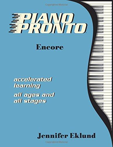 9780981861678: Piano Pronto®: Encore