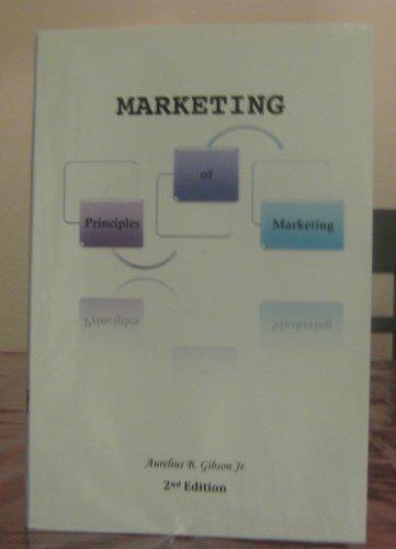 9780981889900: Principles of marketing (FLC)