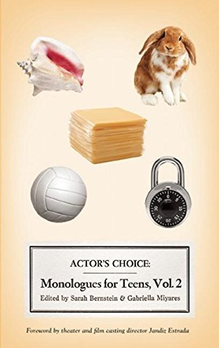 9780981909998: Actor's Choice: Monologues for Teens, Volume 2