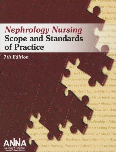 9780981937946: Nephrology Nursing Scope and Standards of Practice (Anna, Nephrology Nursing Scope and Standards)