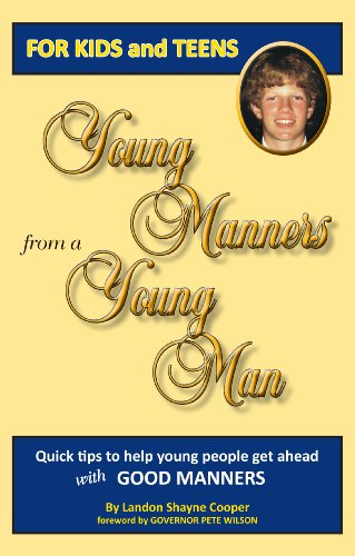 9780981950617: Young Manners from a Young Man