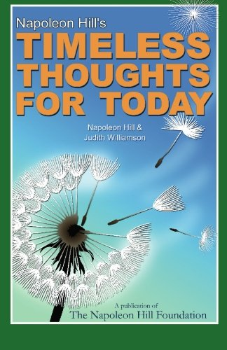 Napoleon Hill's Timeless Thoughts for Today (9780981951102) by Napoleon Hill