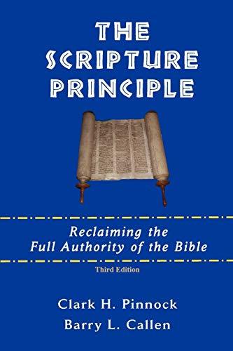 9780981958255: The Scripture Principle