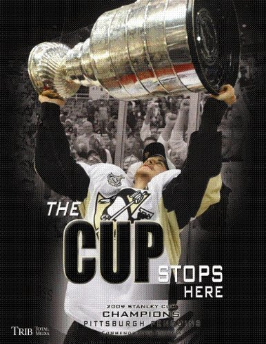The Cup Stops Here (2009 Stanley Cup Championship Commemorative Book): Trib Total Media