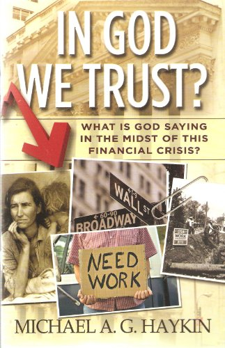 9780981983103: In God We Trust? What Is God Saying in the Midst of This Finacial Crisis?