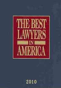 9780981986203: The Best Lawyers in America