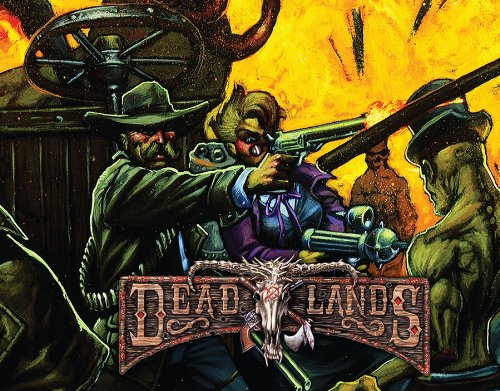 Deadlands Reloaded GM Screen with Adventure (S2P10203, Savage Worlds): Matthew Cutter