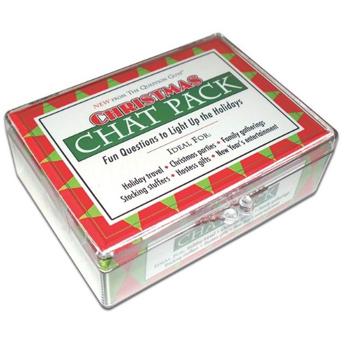 9780981994604: Christmas Chat Pack Cards: Fun Questions to Light Up the Holidays