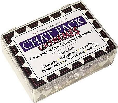 9780981994628: Chat Pack Extremes: Fun Questions to Spark Entertaining Conversations