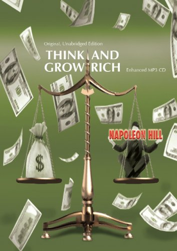 Think and Grow Rich (Original, Unabridged Edition-10 Hours Of Audio) Enhanced MP3 CD-R (9780982005354) by Napoleon Hill; Narrated By: R. C. Ossenbach