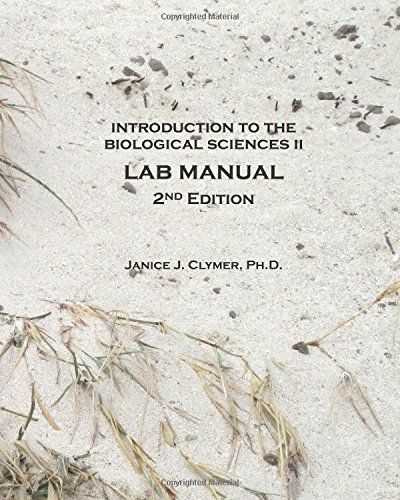 9780982010365: Introduction to the Biological Sciences II Lab Manual, 2nd Edition