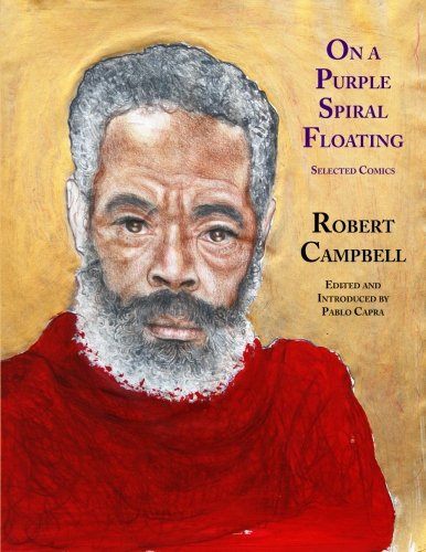 9780982014035: On a Purple Spiral Floating: Selected Comics
