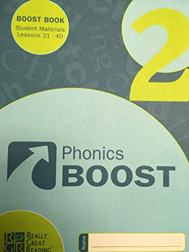 9780982032251: Phonics Boost Book 2: Student Materials for Lessons 21-40