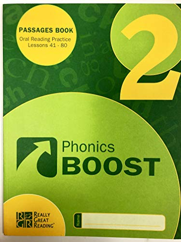 9780982032299: Phonics Boost Book 2: Oral Reading Practice for Lessons 41-80