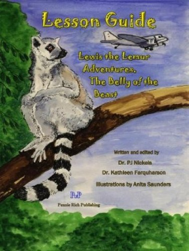 9780982032855: Lewis the Lemur Adventures, The Belly of the Beast: Lesson Guide
