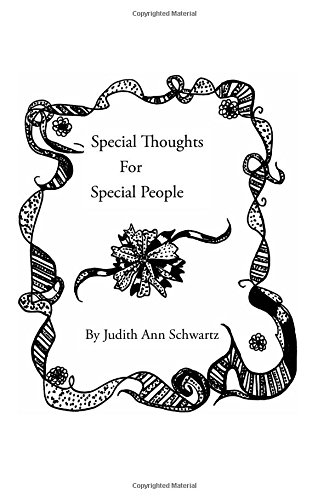 Special Thoughts for Special People: Judith Ann Schwartz